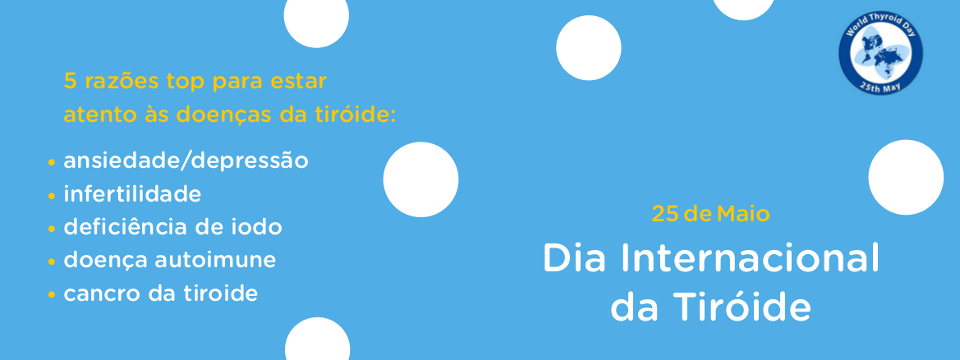 Dia Internacional da TIRÓIDE
