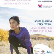Faça o rastreio gratuito de doenças da tiroide na Praça Central do Norteshopping